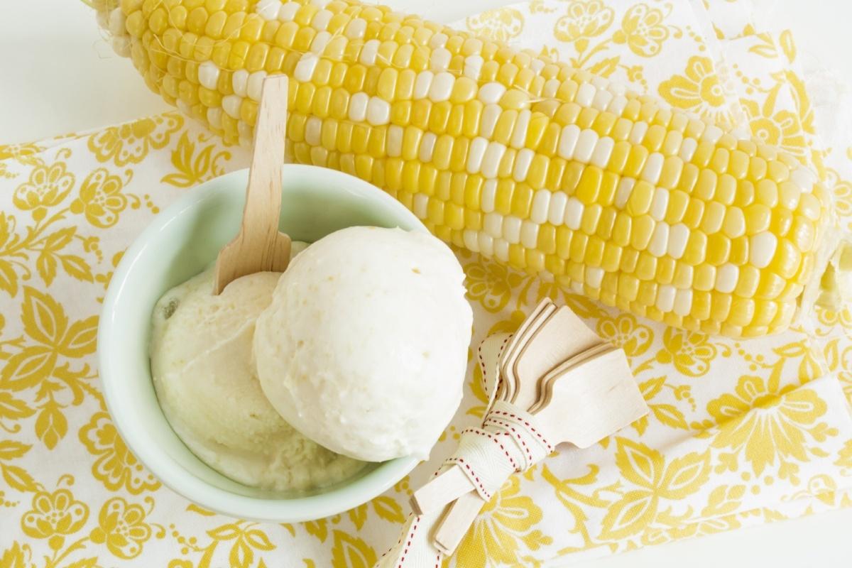 Super Sweet Corn Gelato