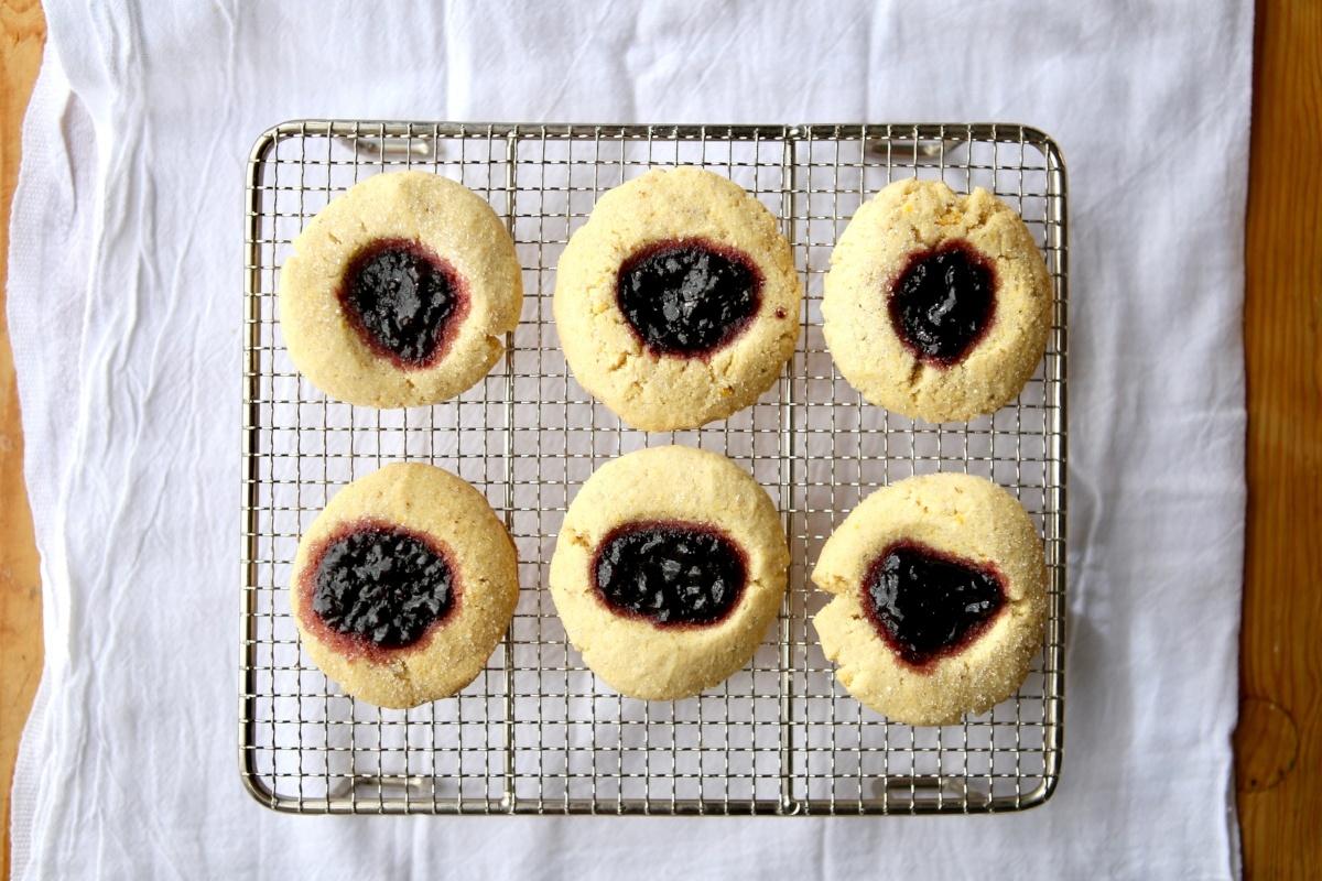 Dandy® Super Sweet Corn Blackberry Thumbprint Cookies