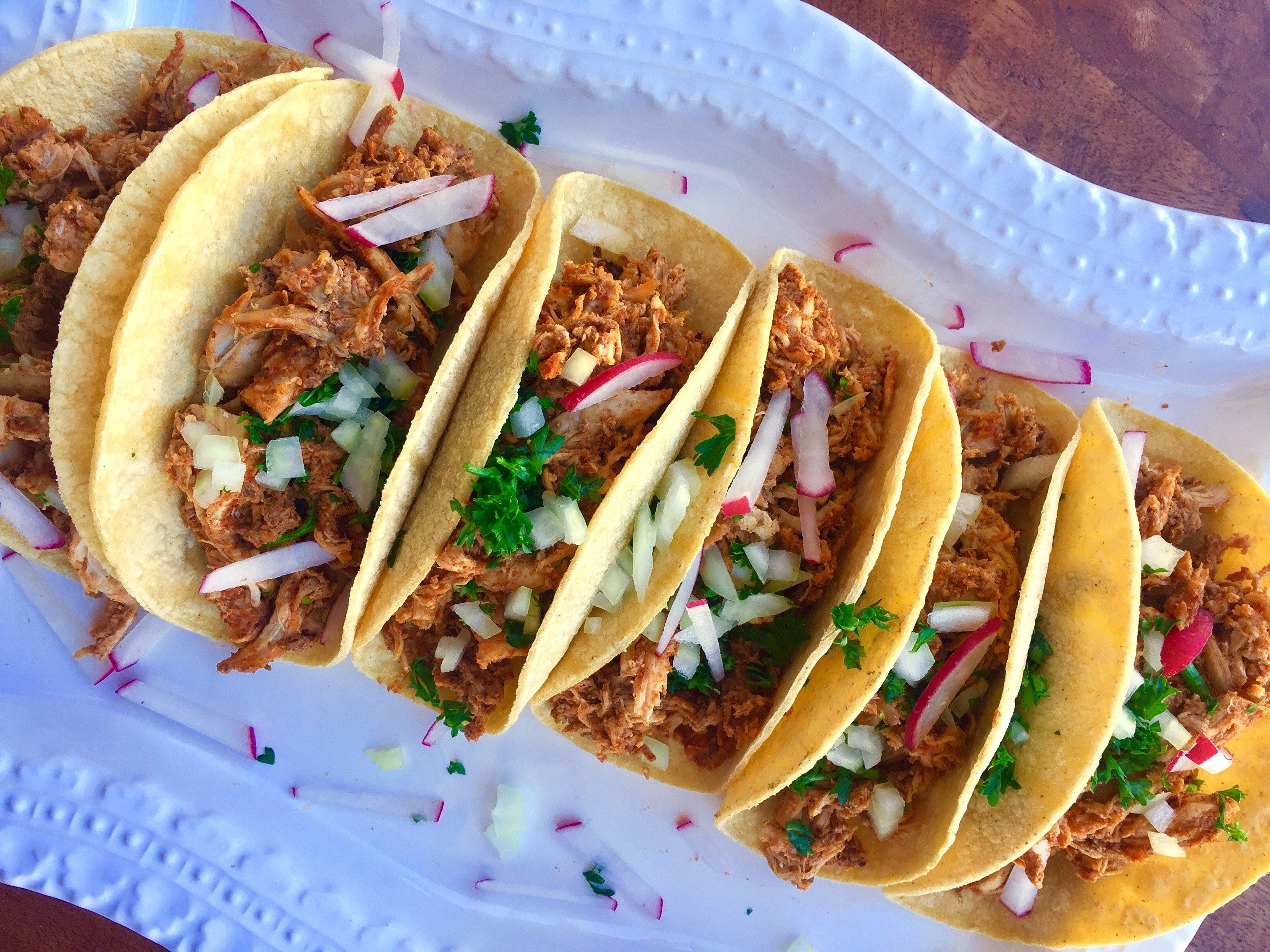 PHOTO Tandoori Turkey Tacos