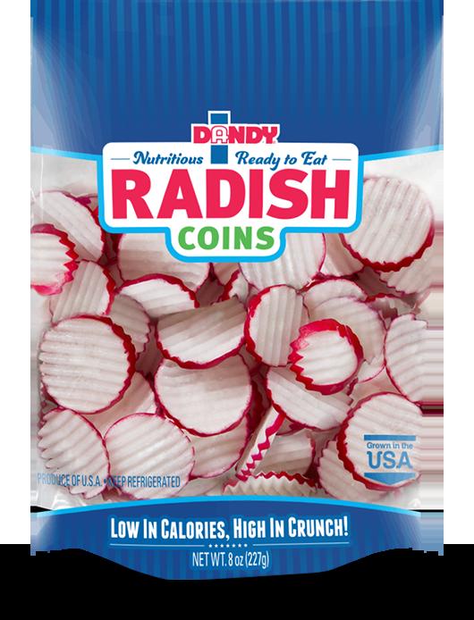 bag of radish coins