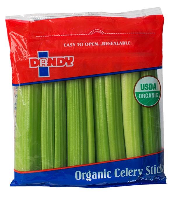 organic celery sticks 8oz bag