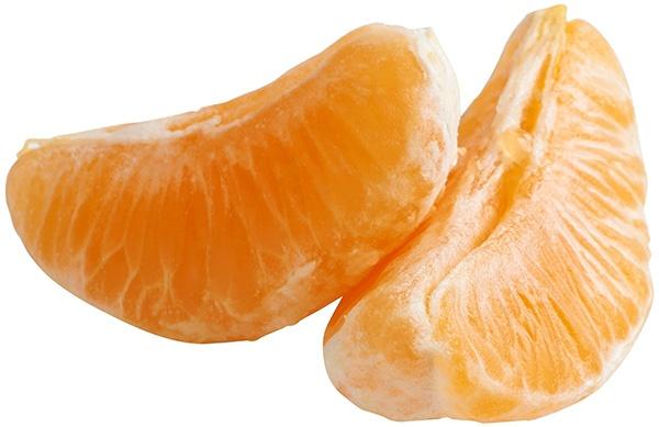 tangerine slices