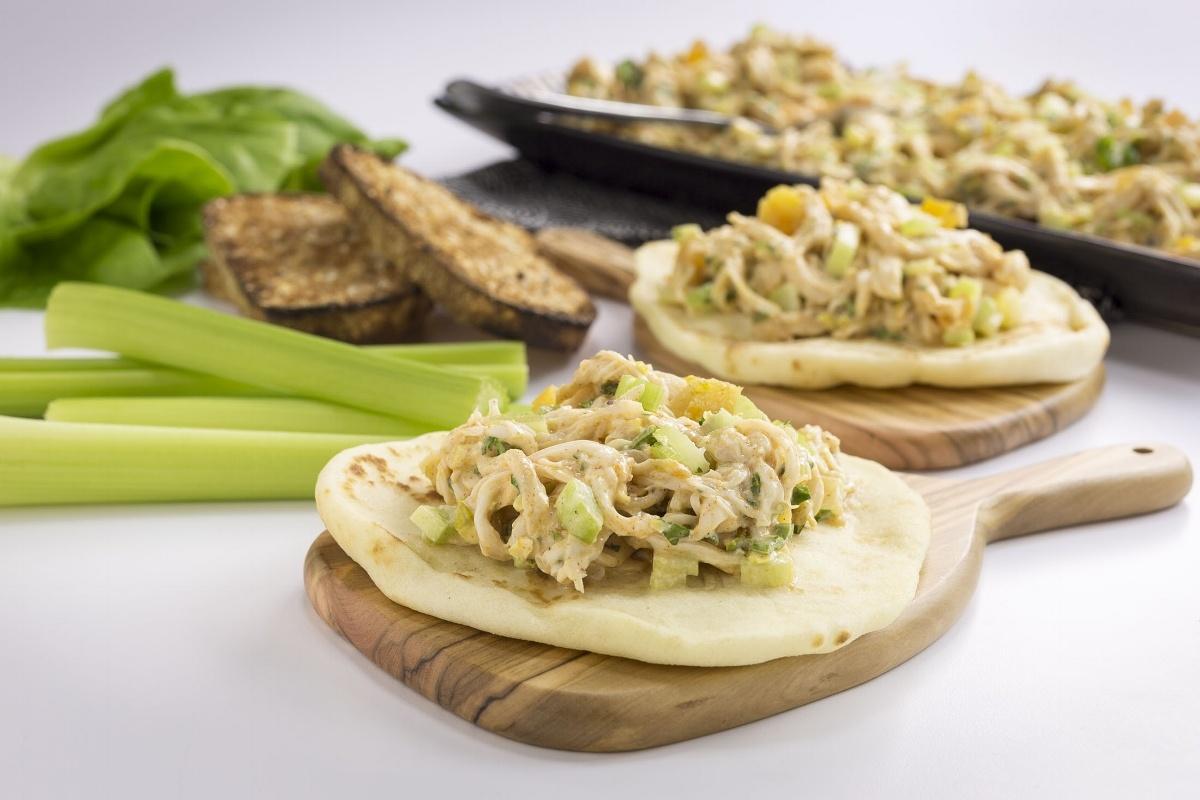 Tandoori Chicken Spiced Salad