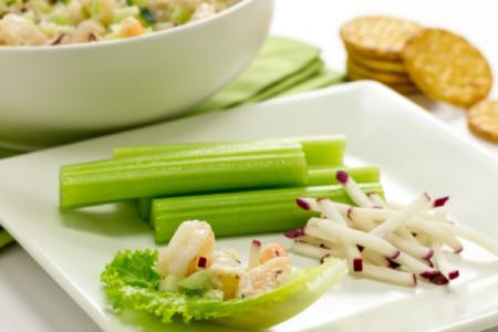 Shrimp Salad with Greek Yogurt Dressing