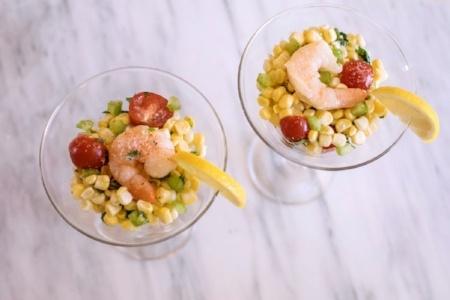 Corn and Shrimp Ceviche