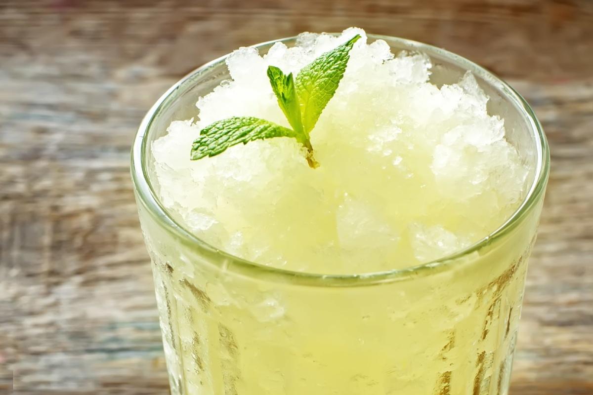 Celery-Apple Granita