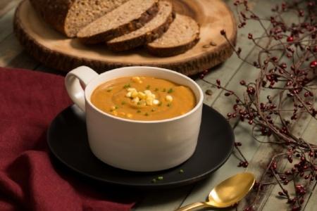 Dandy Sweet Corn and Split Pea Soup