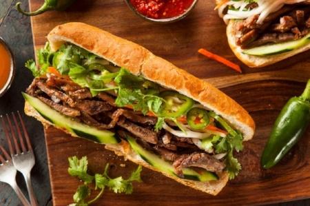 Vietnamese Banh Mi Sandwiches