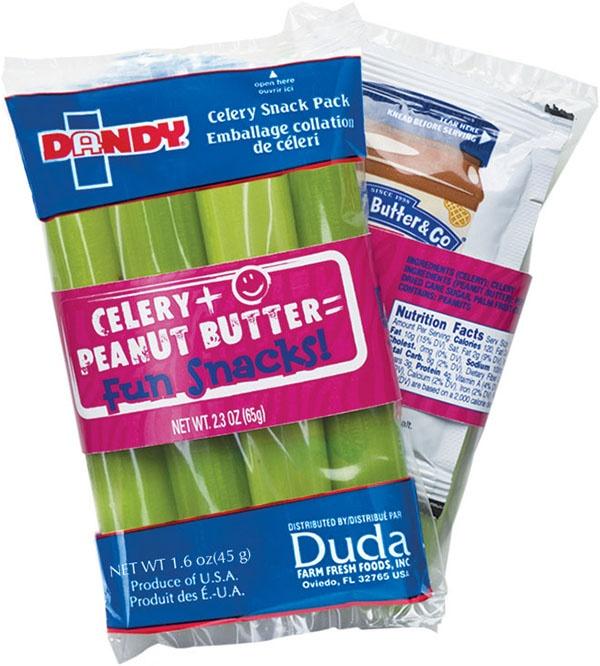 Snack Pack - Celery + Peanut Butter