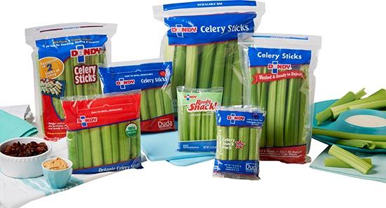 package of celery sticks